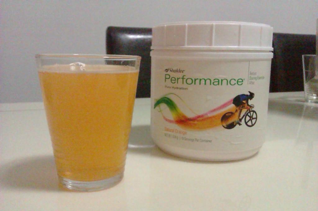 Performance Drink Shaklee