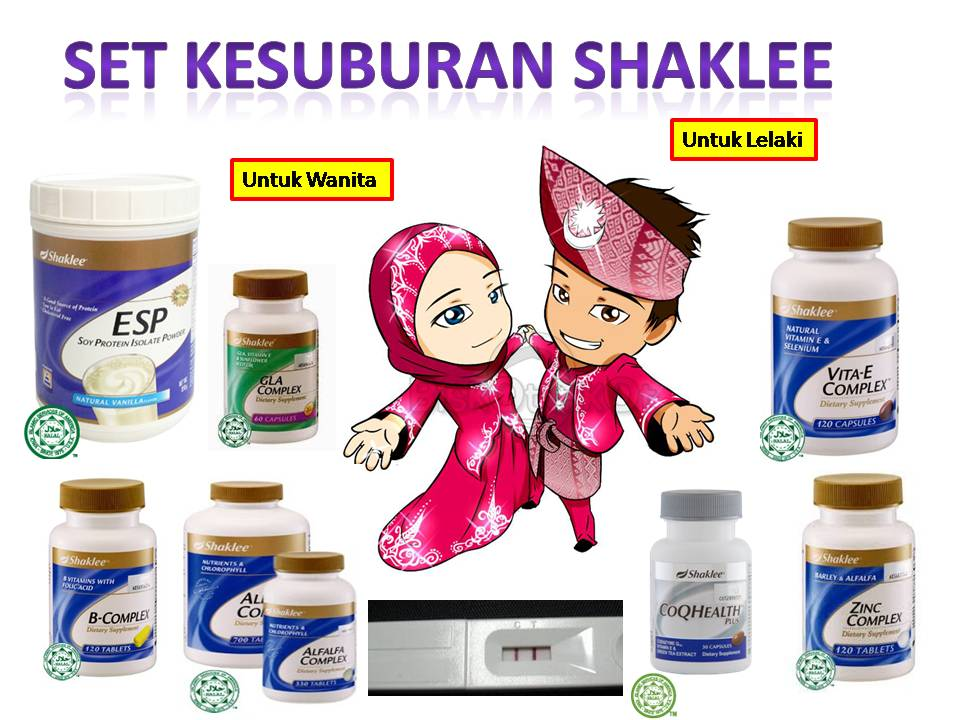 Image result for set kesuburan shaklee