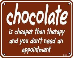 terapi coklat