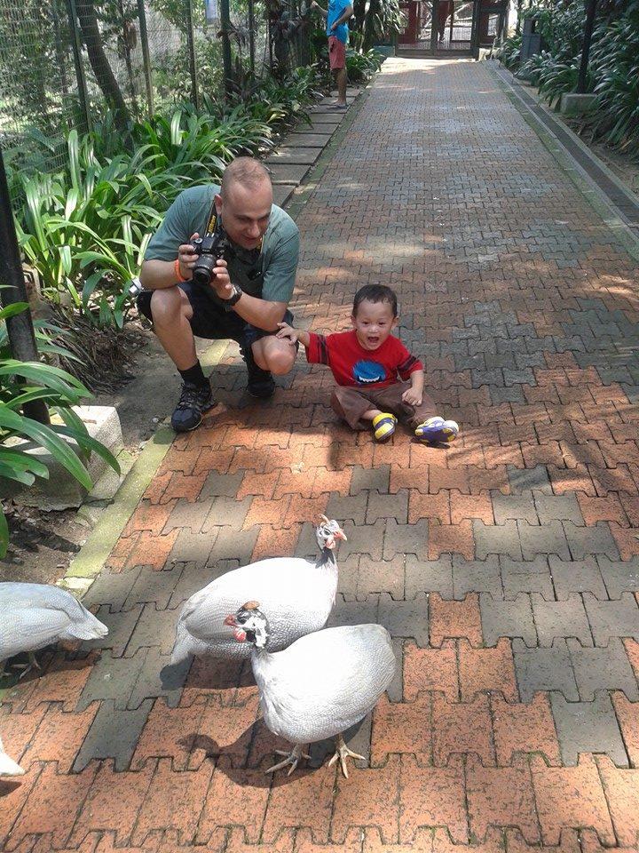 Burung pertama yang ditemui
