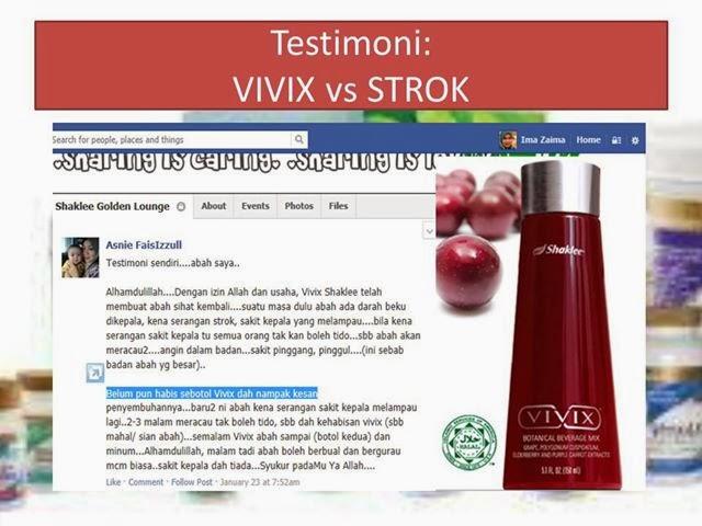 premium beautiful shaklee  by wan afzan Vivix Testimoni strok 1