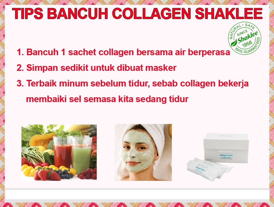 tips bancuh collagen